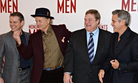 Οι Damon, Murray, Goodman, Clooney. φωτο Dave M.Bennett, WireImago για την Guardian