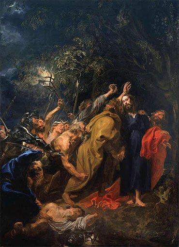 Η σύλληψη του Χριστού - Sir Anthony van Dyck (1599-1641)