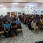 Οι νέοι μας ακούν με προσοχή τις πατρικές νουθεσίες του Επισκόπου