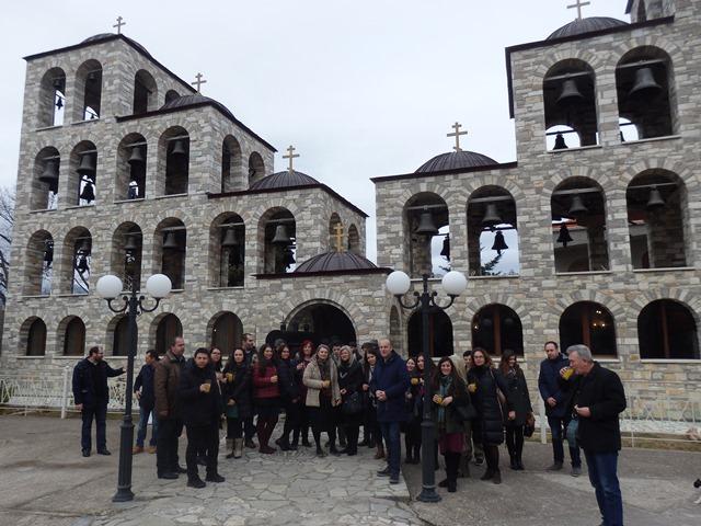 Νέοι του Αγίου Αχιλλίου στη Ναυπακτία.