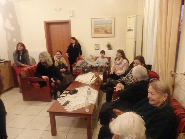 Νέοι του Αγίου Αχιλλίου στο Γηροκομείο Αρμενίου.