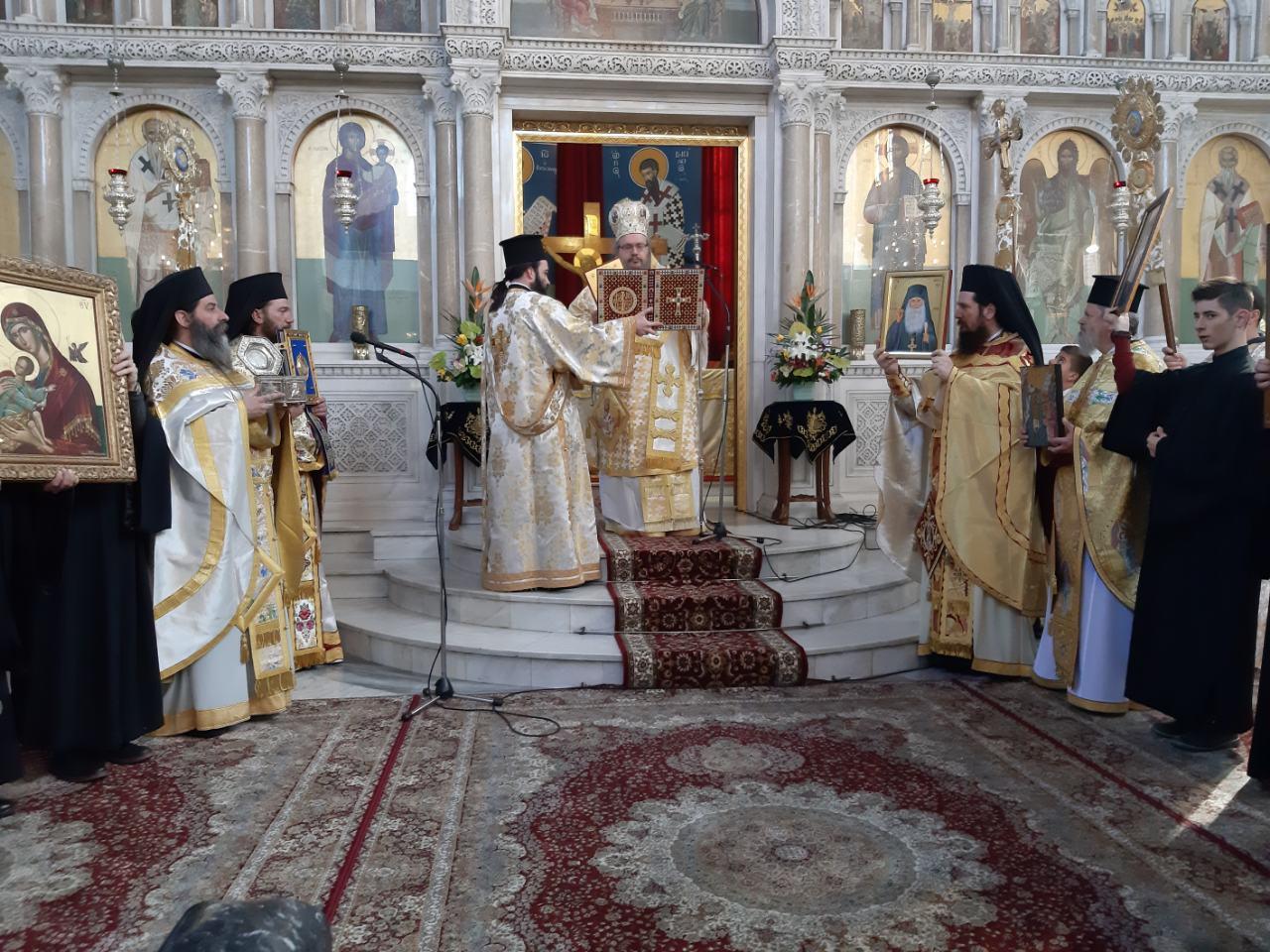 Κυριακή της Ορθοδοξίας στον Άγιο Αχίλλιο.
